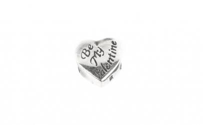 Charm Argint 925, Be My Valentine