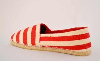 Espadrile Red Stripes la 59 RON in loc de 150 RON