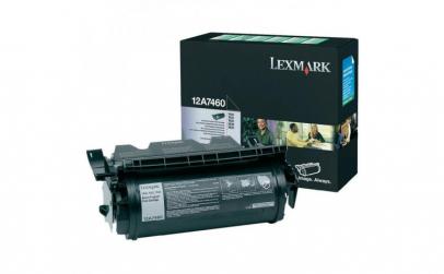 LEXMARK12A7460 BLACK TONER