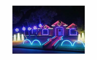 Furtun luminos LED, 20m