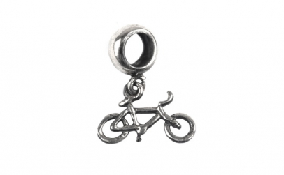 Charm Argint 925 Bicicleta