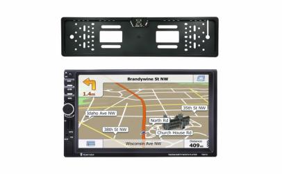 Dvd Auto 2 Din, GPS, cu camera