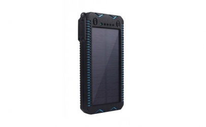 Acumulator extern solar portabil