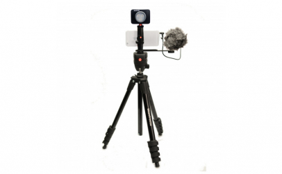 Kit pentru Vlogger LED3 Compact Action,