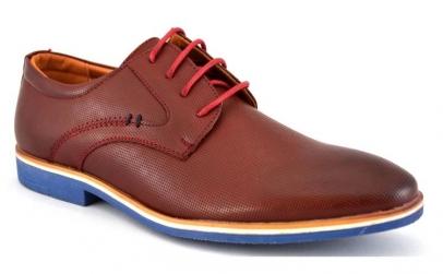 Pantofi barbatesti Maro-Bordo cu talpa