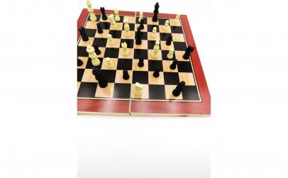 Jocuri de sah si table, lemn,29 X 29