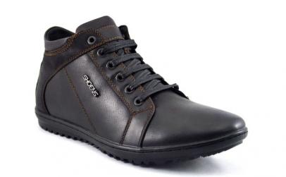 Pantofi Sport Barbatesti negri piele