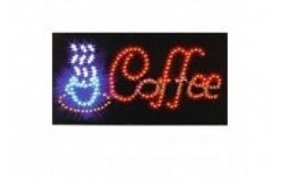 Reclama luminoasa - Coffee