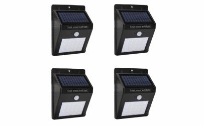 Set de patru lampi solare