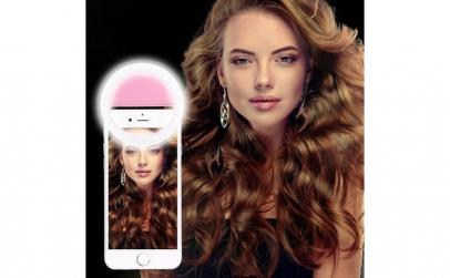 Lampa LED Selfie Ring Pentru Smartphone