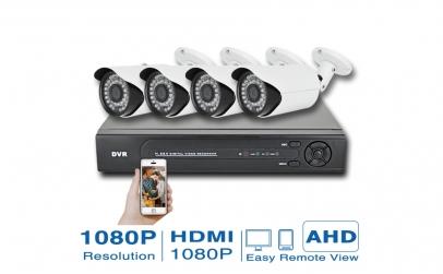 Sistem de supraveghere 4 camere HD