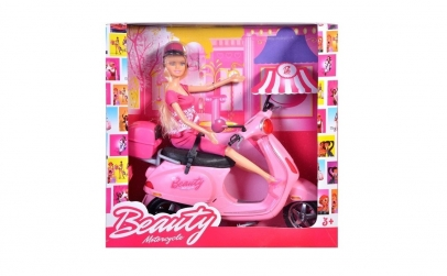 Papusa Barbie cu scuter Vespa Betty, 30