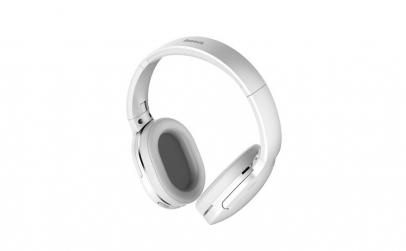 Casti Wireless D02, Baseus, alb