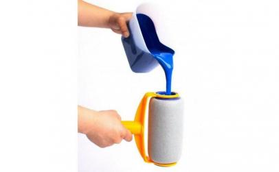 Trafalet cu recipient de vopsea