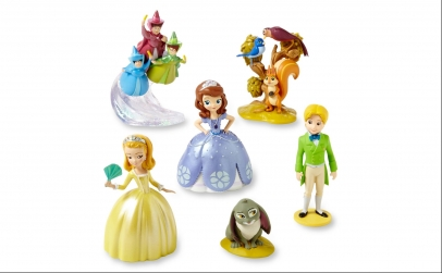 Set 6 figurine Printesa Sophia