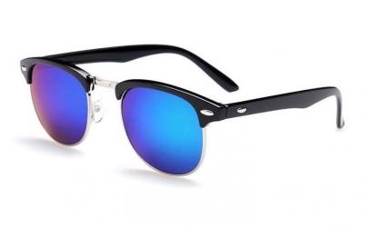 Ochelari de soare Retro Albastru
