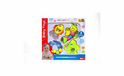 Set 4 jucarii pentru bebelusi