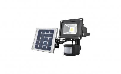 Proiector solar LED, senzor de miscare