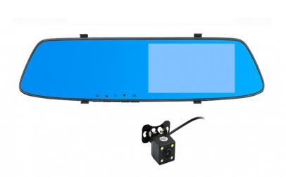 Camera Auto Oglinda Dual Lens,