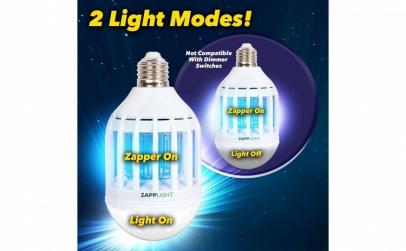 Bec LED 60W & lampa UV anti-tantari