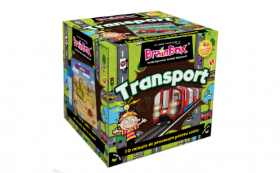 Joc educativ BrainBox Transport