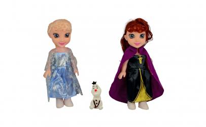 "Anna, Elsa si Olaf - canta ""Let it go"""