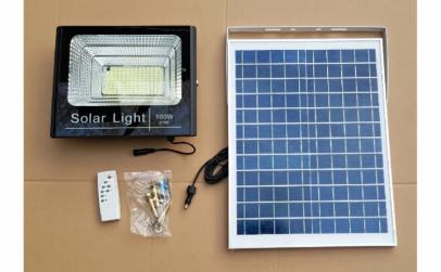 Panou solar cu telecomanda