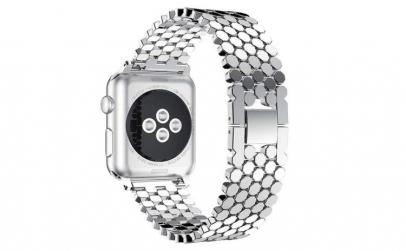 Curea Apple Watch, Zale Hexagonale,