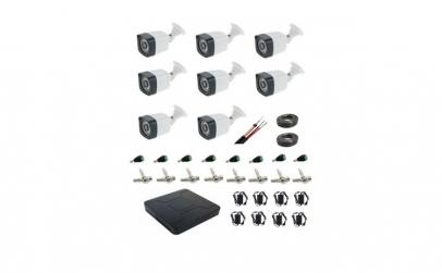 Kit complet sistem profesional 8 camere