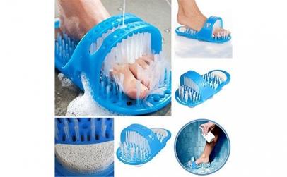 Papuc de baie cu ventuze