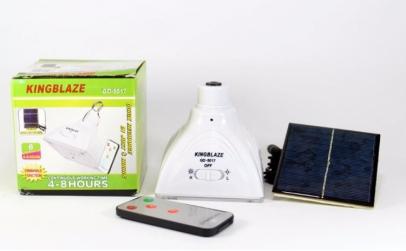 Bec solar cu telecomanda