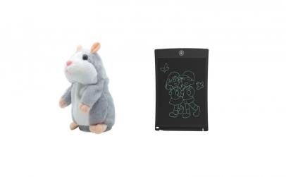 Hamster vorbitor + Tableta LCD