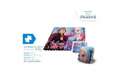 Covoras puzzle Frozen 2