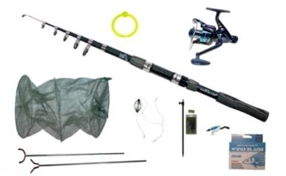 Set lanseta 300 cm pescuit sportiv