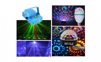 Laser disco + glob disco + bec rotativ