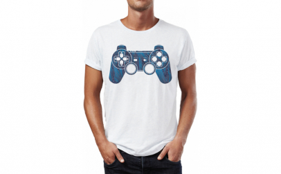 Tricou barbati Gamer Playstation,
