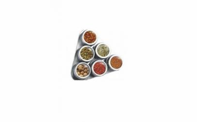 Suport condimente inox