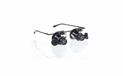 Ochelari microscop LED, lupa binoculara