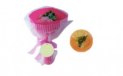 Buchet cu 3 trandafiri din sapun