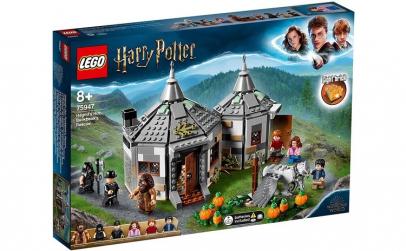 LEGO HARRY POTTER  COLIBA LUI HAGRID