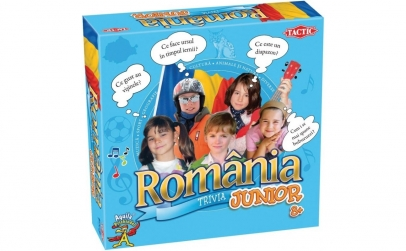 Joc educativ trivia Romania junior