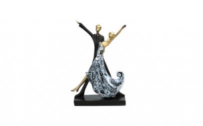 Cuplu de dansatori 17x28 cm