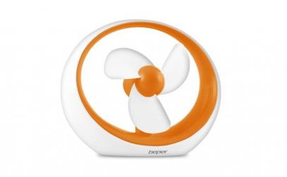 Ventilator USB - portocaliu