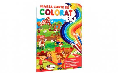 Marea carte de colorat 3-4 ani editia a