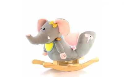 Balansoar elefant cu sunete si sezut