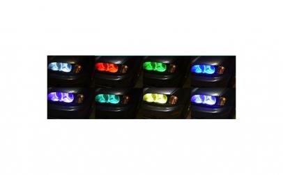 Kit RGB Led Angel Eyes BMW 16 culori cu