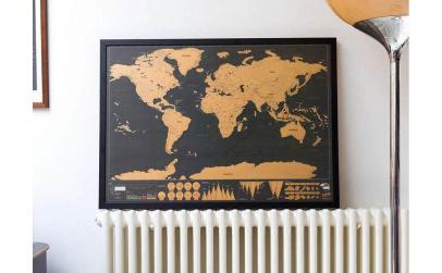 Harta razuibila World Map, Deluxe, Small