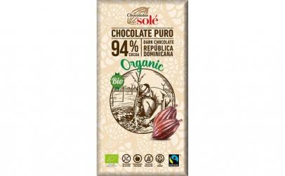 Ciocolata neagra BIO si fairtrade 94%