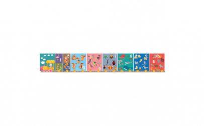 Numere (puzzle de podea)