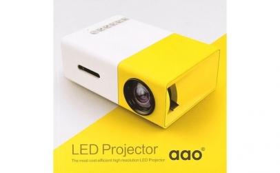 Videoproiector LED mini portabil YG300
